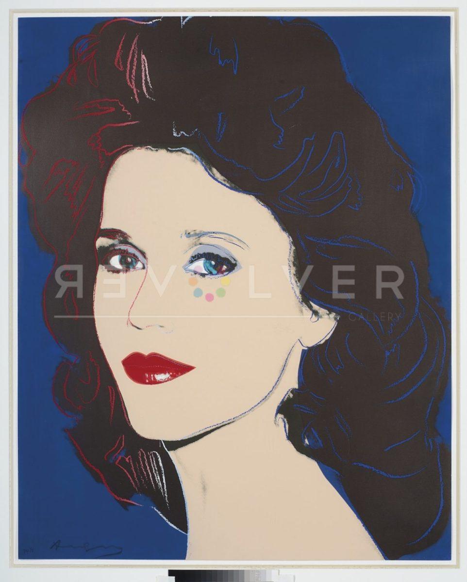 Andy Warhol Jane Fonda 268 screenprint.