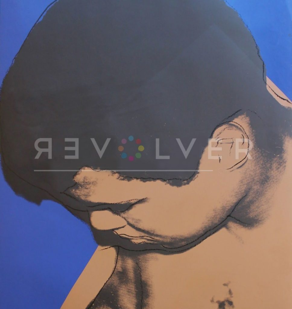Stock image for Andy Warhol Muhammad Ali 180 with the revolver gallery watermark.
