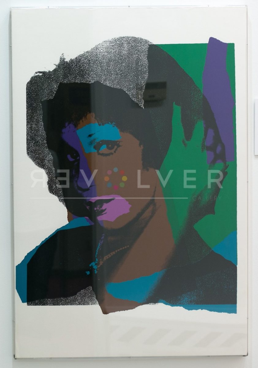 Andy Warhol Ladies and Gentlemen 132 framed.