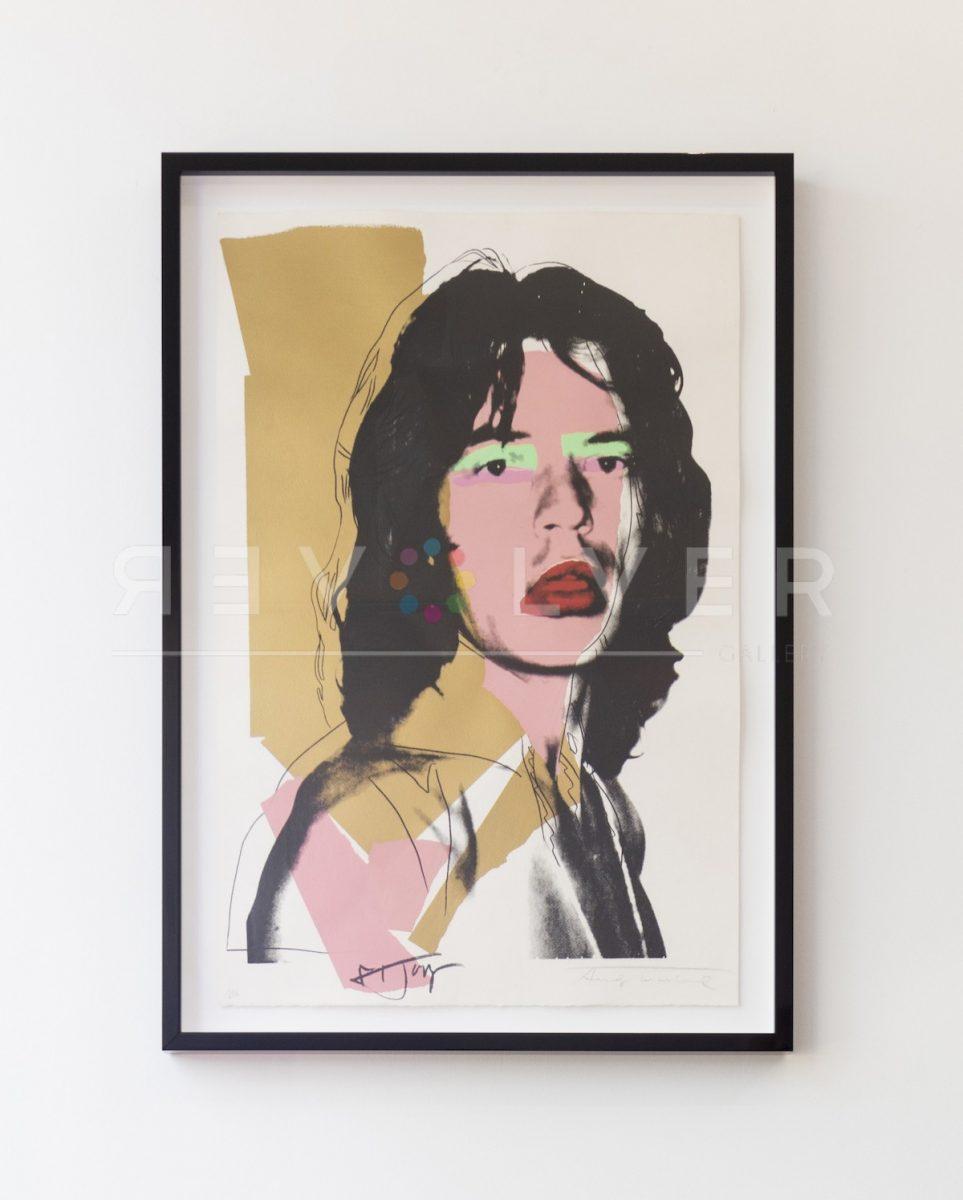 Andy Warhol - Mick Jagger-FS-II-143 jpg