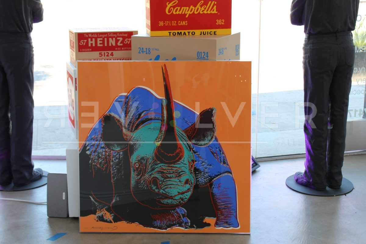 Andy Warhol - Black Rhinoceros 301 jpg