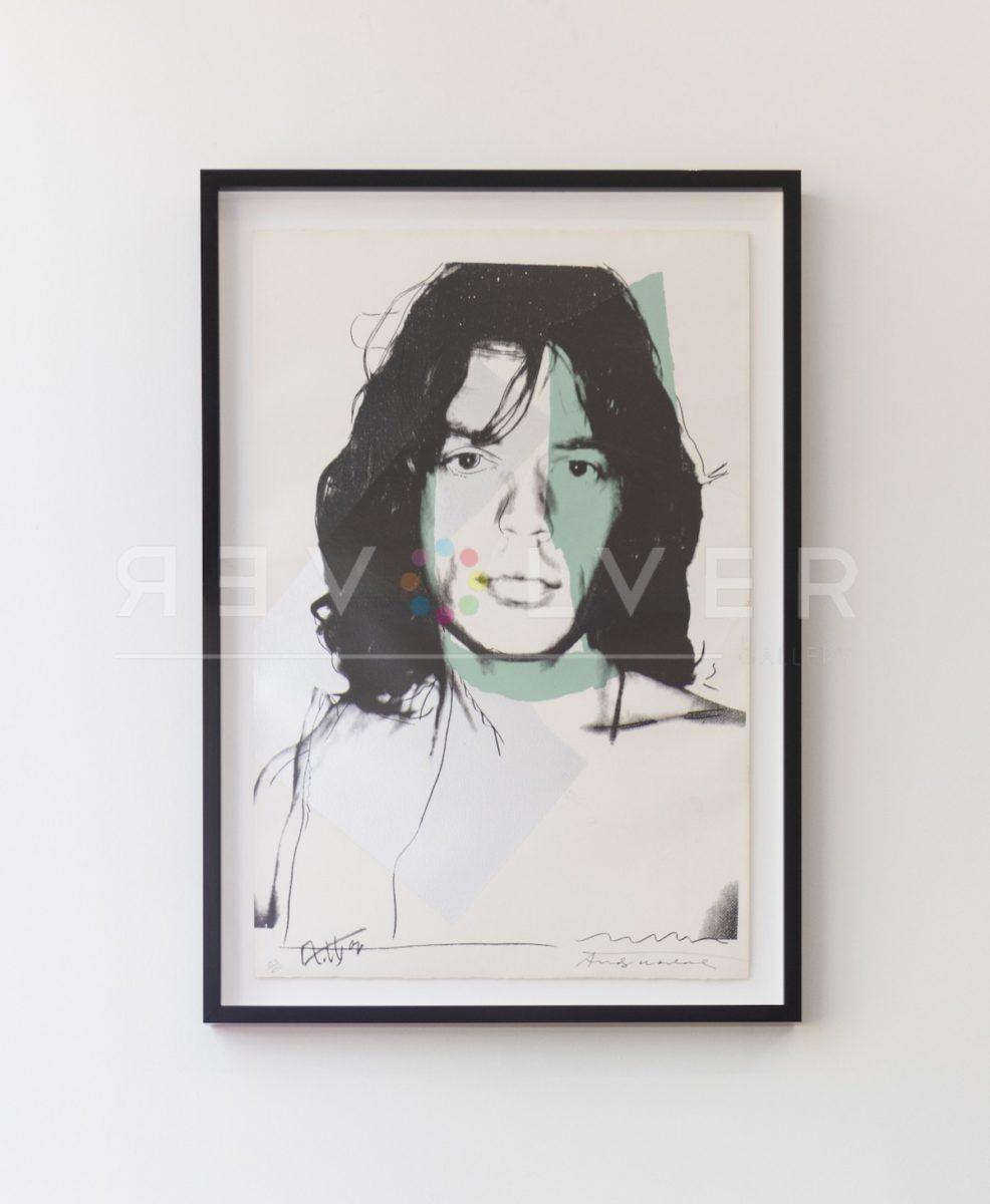 Andy Warhol - Mick Jagger 138