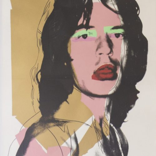 Andy Warhol - Mick Jagger 143