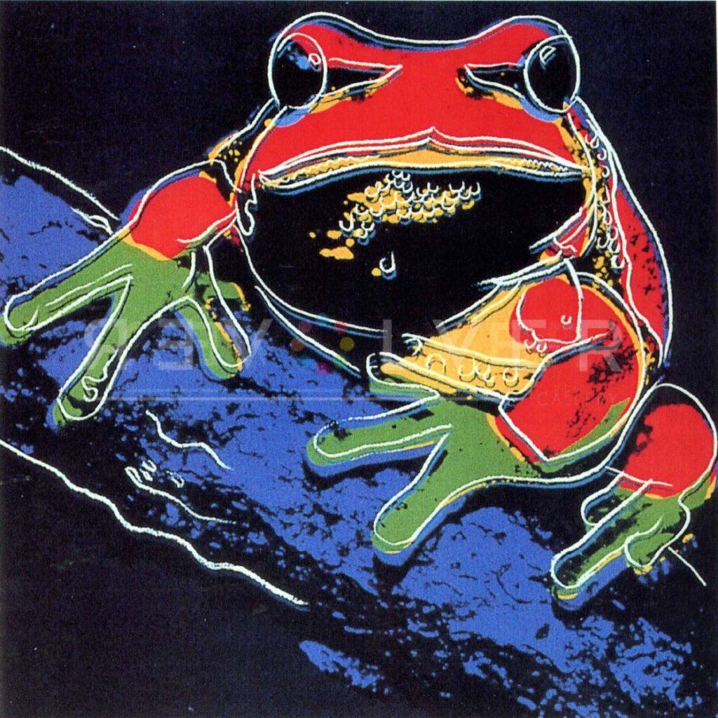 Andy Warhol - Pine Barrens Tree Frog F.S. II 294 jpg