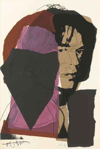 Andy Warhol - Mick Jagger F.S. II 138 jpg