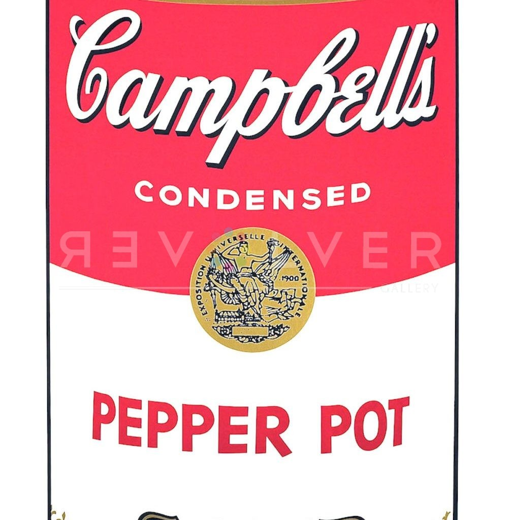 Picture of Campbell Soup I: Pepper Pot (FS II.51), 1968, stock version, by Andy Warhol