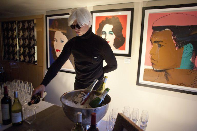 Andy Warhol - Revolver Gallery L'Ermitage Exhibit