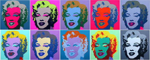 Andy Warhol - Sunday B Morning