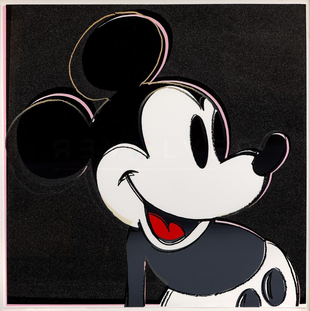 Andy Warhol - Mickey Mouse F.S. II 265 jpg