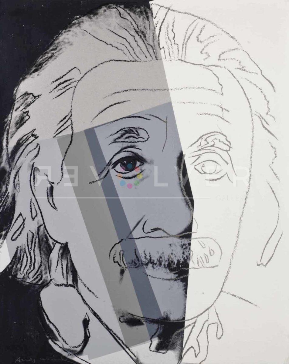 Picture of Stock Original Albert Einstein Screen Print (FS II.229), 1980, by Andy Warhol