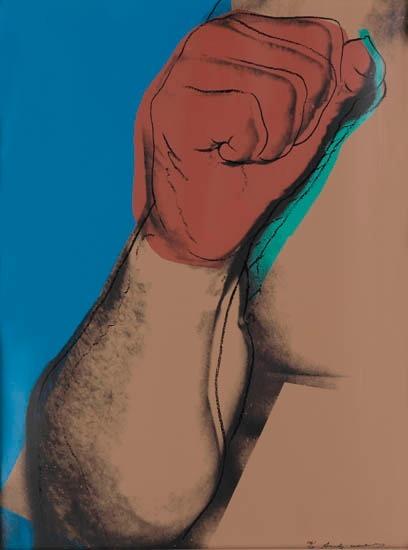 Andy Warhol - Muhammad Ali