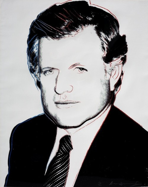 Andy Warhol - Ted Kennedy