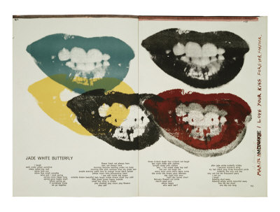 Andy Warhol - Lips