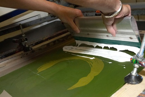 Andy Warhol - Screenprint Process