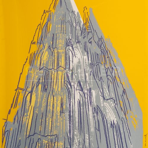 Andy Warhol – Cologne Cathedral F.S. II 363 jpg