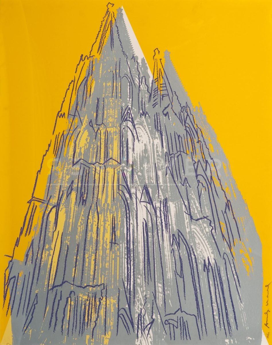 Andy Warhol - Cologne Cathedral F.S. II 363 jpg