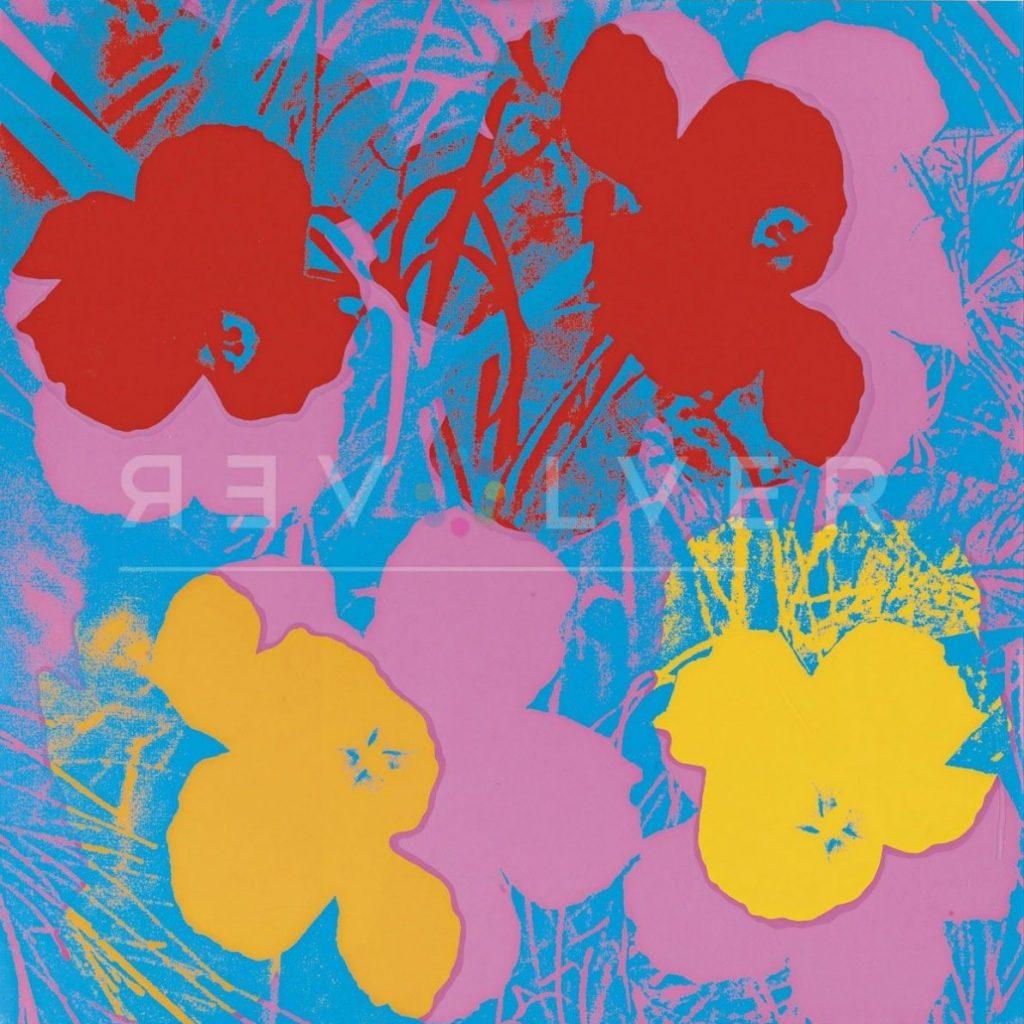 Andy Warhol - Flowers F.S. II 66 jpg