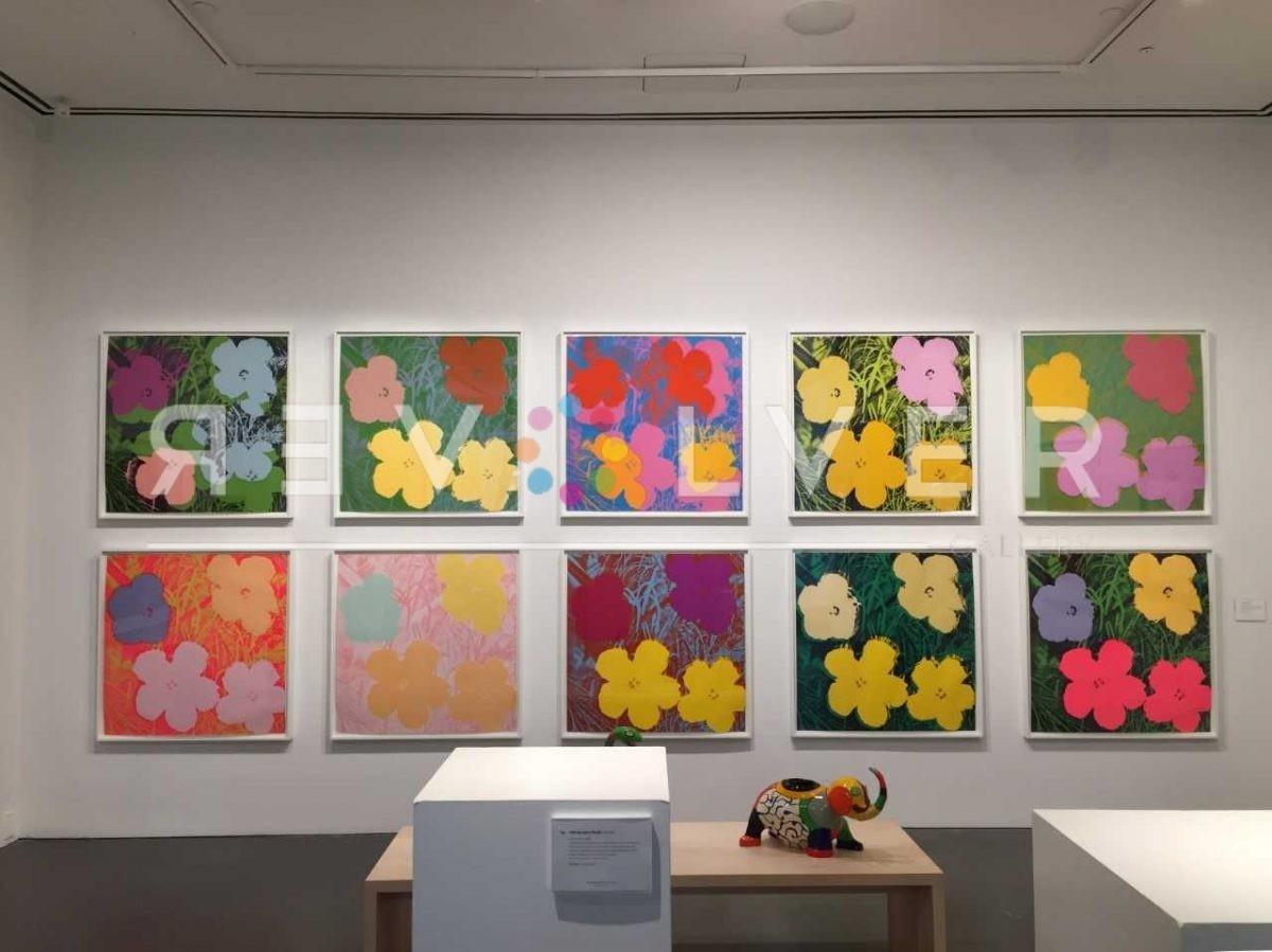 Andy Warhol - Flowers_FS II.66_hanging
