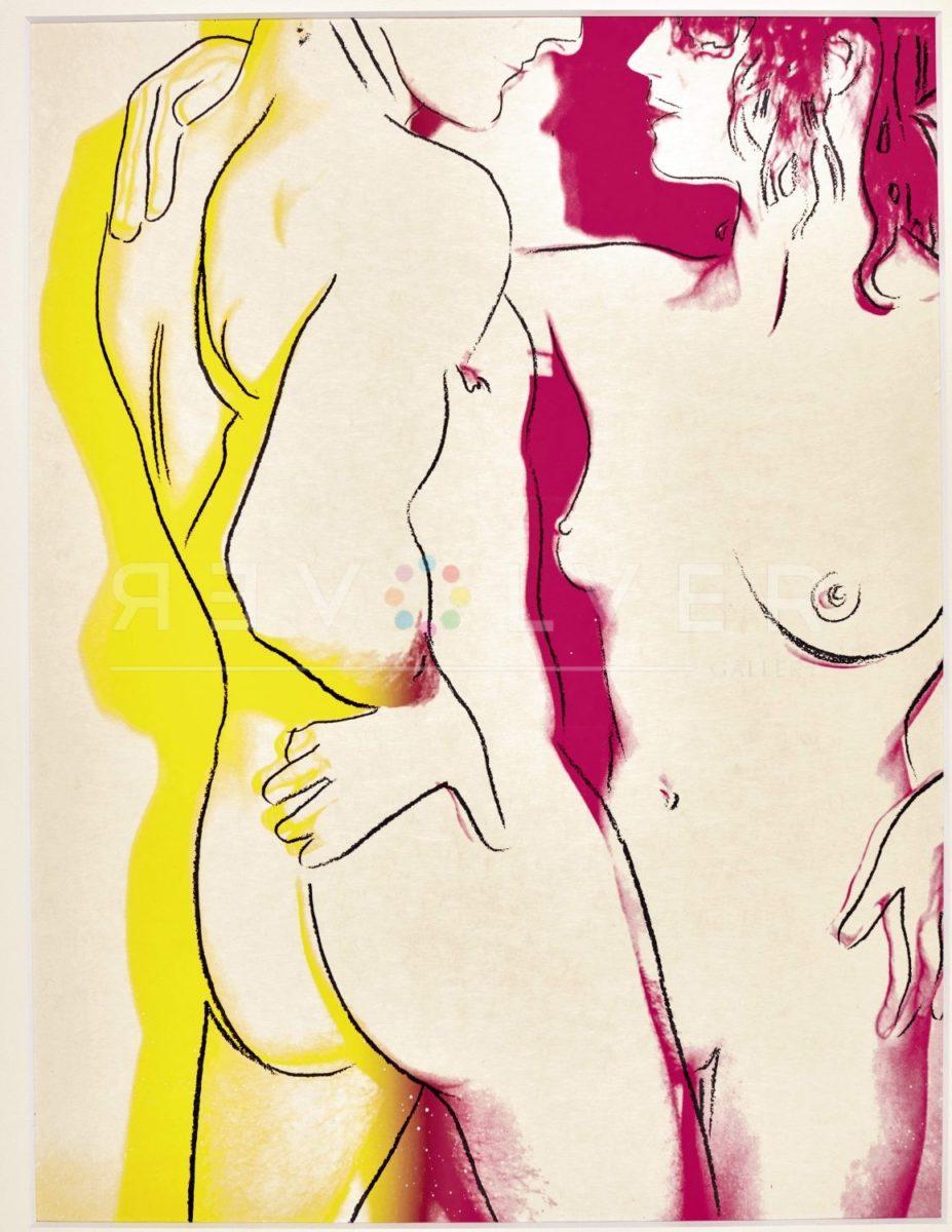 Andy Warhol Love 311 screenprint framed.