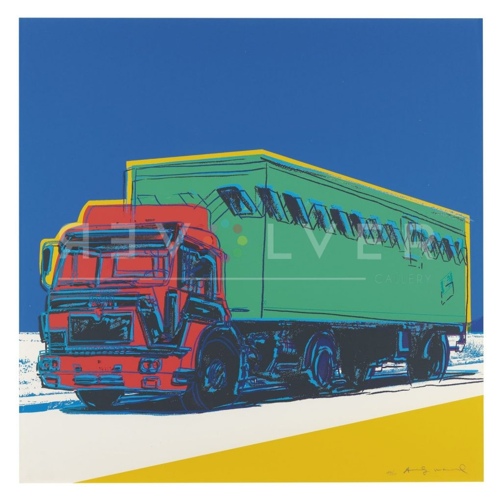 Stock image for Andy Warhol Truck 368 screenprint.