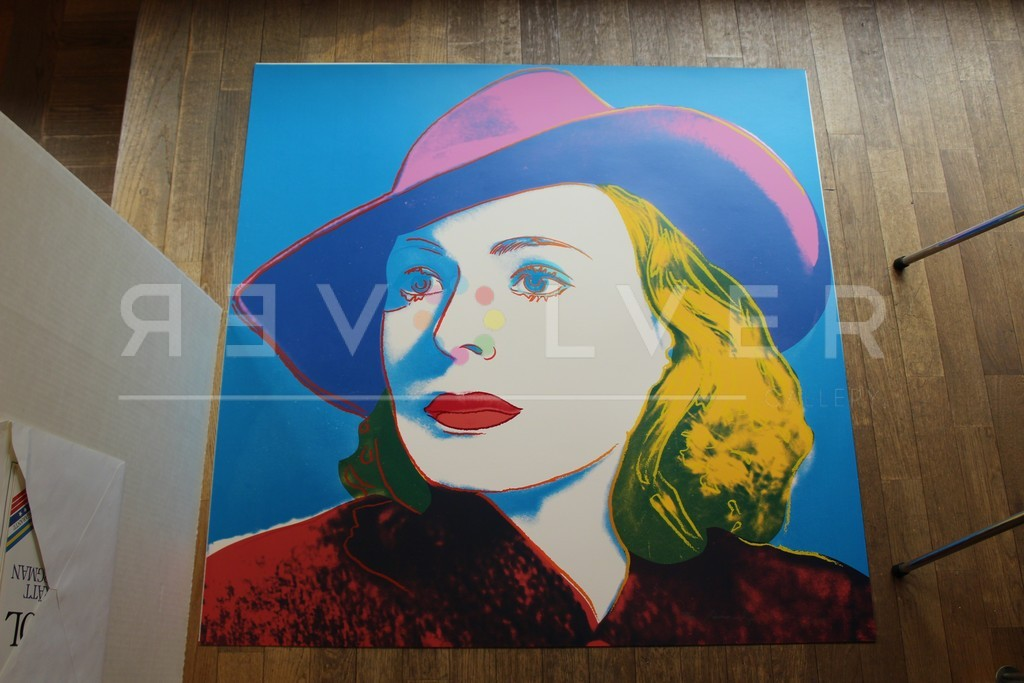 Andy Warhol Ingrid Bergman with Hat 315 out of frame.