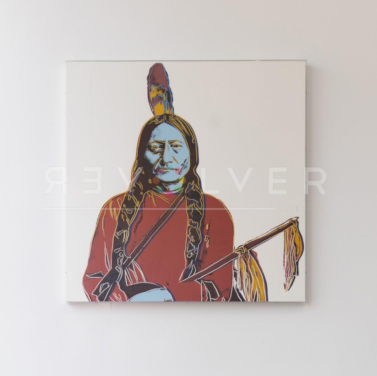 Andy Warhol - Sitting Bull A70