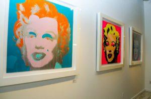 Andy Warhol - Marilyn Monroe F.S. II 29 and 31 framed jpg