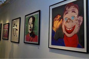 Andy Warhol - Howdy Doody F.S. II 263 framed jpg