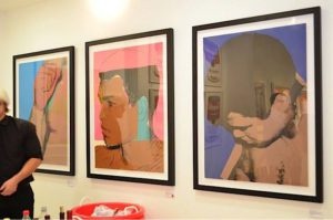 Andy Warhol - Muhammad Ali F.S. 179-181 framed jpg