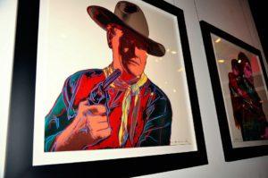 Andy Warhol - John Wayne F.S. II 377 framed jpg