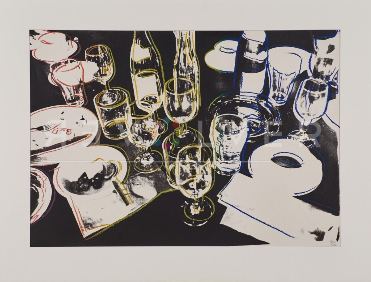 Andy Warhol After the Party 183 screenprint.