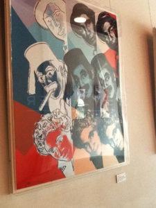 Andy Warhol - Marx Brothers F.S. II 232 framed jpg