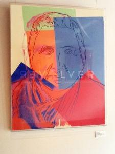 Andy Warhol - Gertrude Stein F.S. II 227 hanging jpg