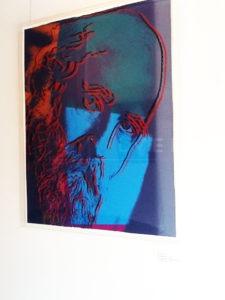 Andy Warhol - Martin Buber F.S. II 228 framed jpg