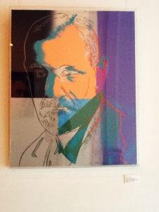 Andy Warhol - Sigmund Freud F.S. II 235 hanging jpg