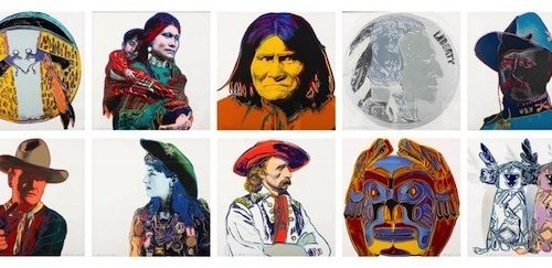 Andy Warhol – Cowboys and Indians (Full Suite) jpg