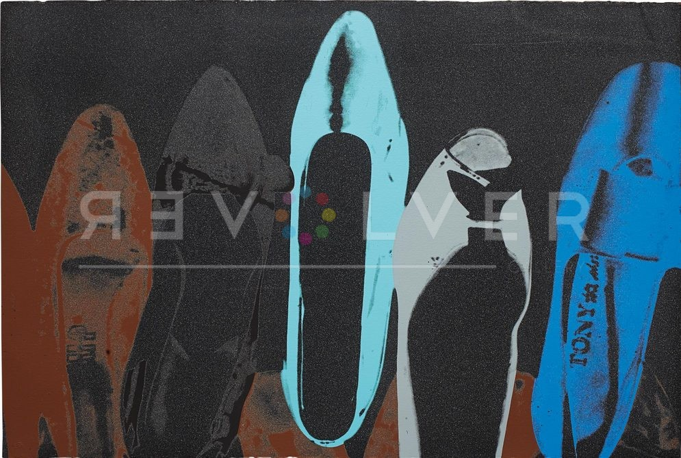 Andy Warhol Shoes 257 with Revolver watermark.