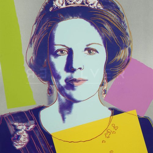 Andy Warhol – Queen Beatrix F.S. 340 (Royal) jpg