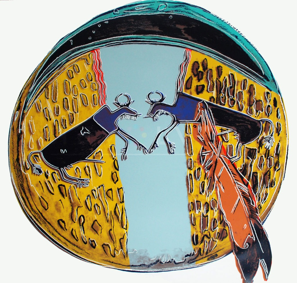 Andy Warhol - Plains Indian Shield F.S. II 382 jpg