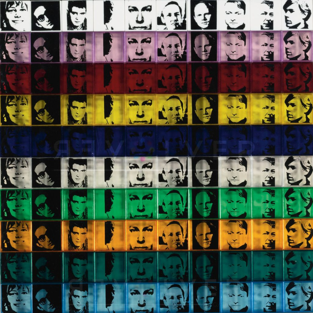 Andy Warhol - Portrait of the Artists F.S. II 17 jpg