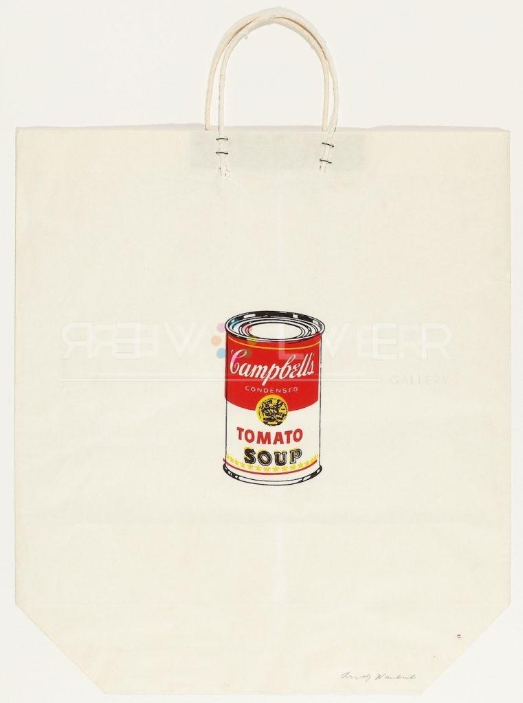 Andy Warhol - Campbells Soup Shopping Bag F.S. II 4 jpg