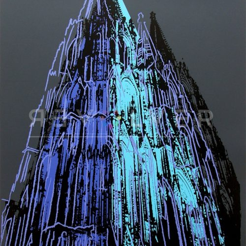 Andy Warhol – Cologne Cathedral F.S. II 362 jpg