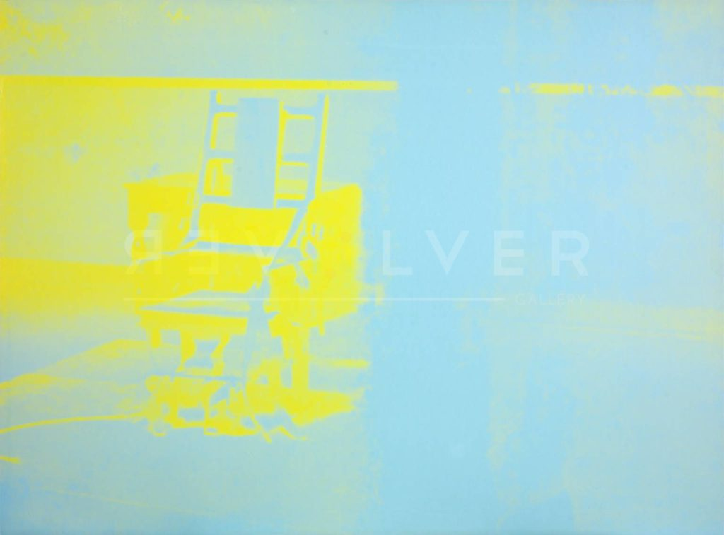 Andy Warhol - Electric Chair F.S. II 77 jpg