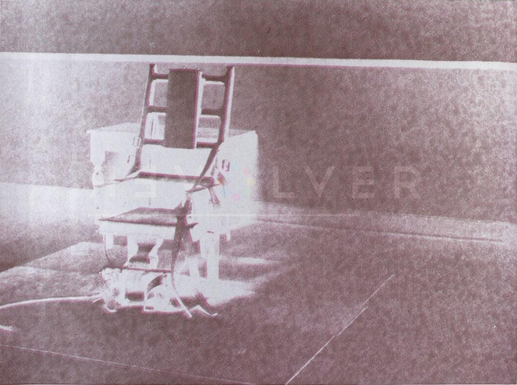 Andy Warhol - Electric Chair F.S. II 78 jpg