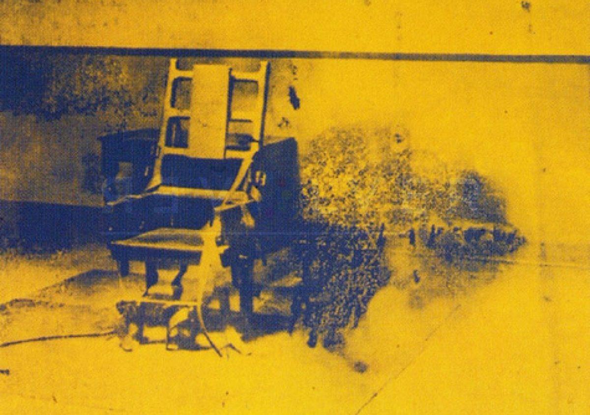 Andy Warhol - Electric Chair F.S. II 74 jpg