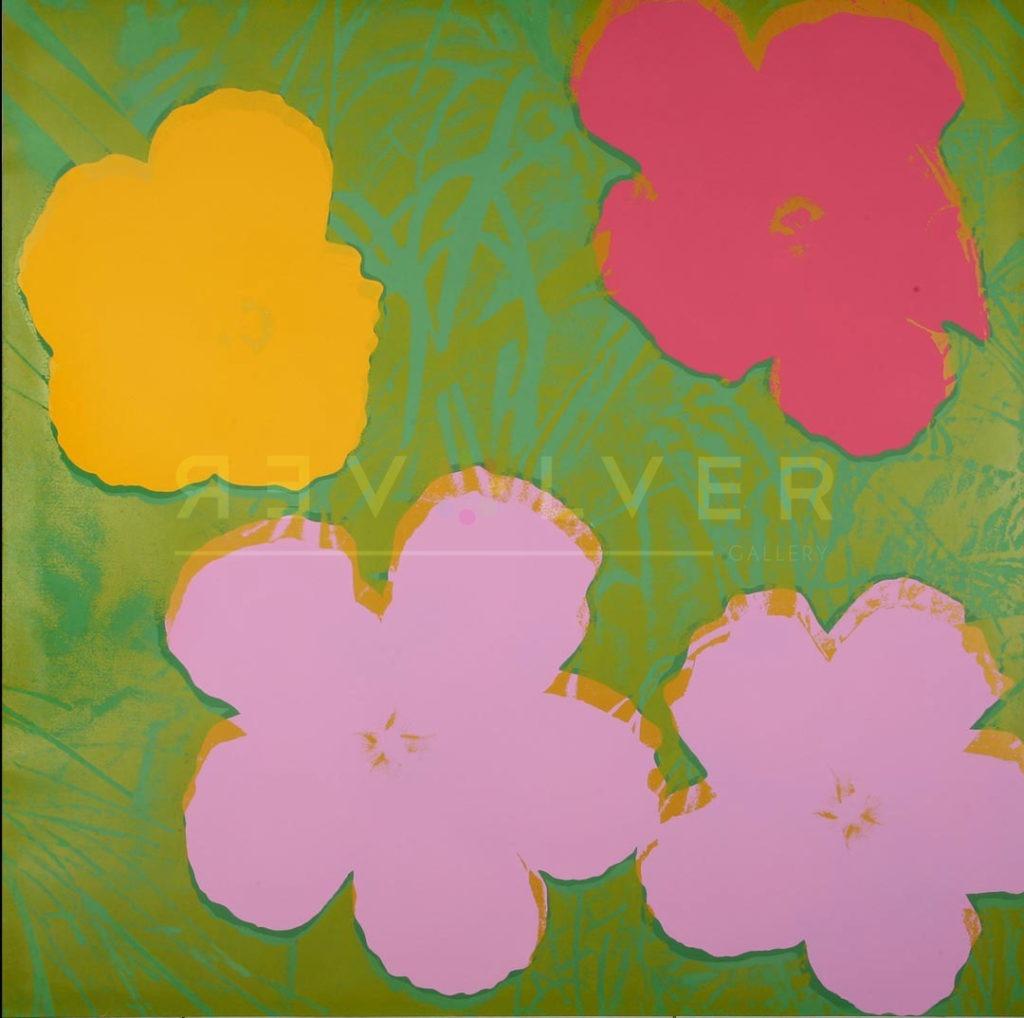 Andy Warhol - Flowers F.S. II 68 jpg