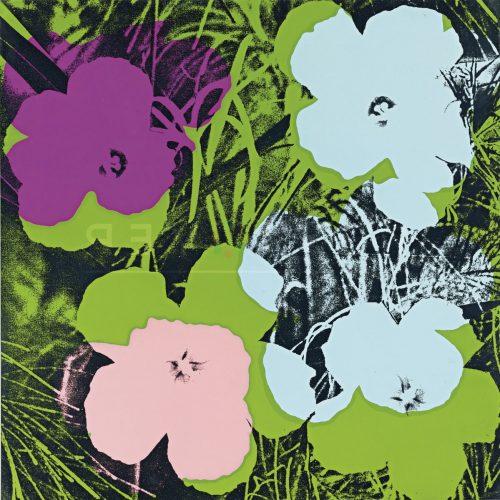 Andy Warhol – Flowers F.S. II 64 jpg