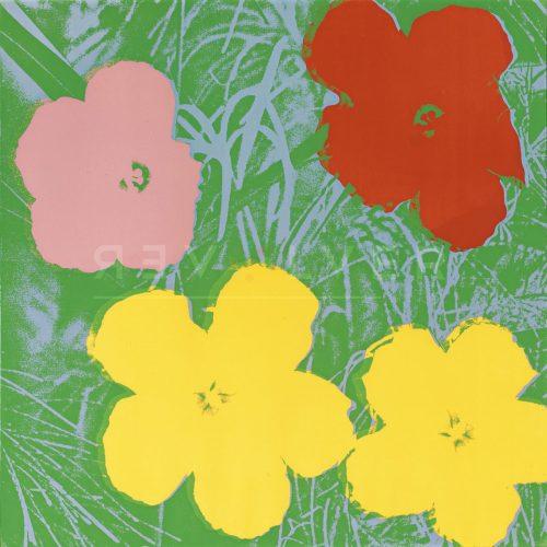 Andy Warhol - Flowers F.S. II 65 jpg