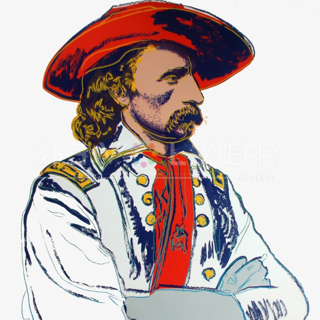 Andy Warhol - General Custer F.S. II 379 jpg