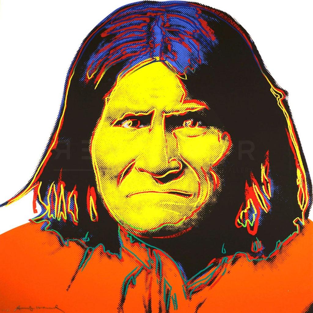Andy Warhol - Geronimo F.S. II 384 jpg